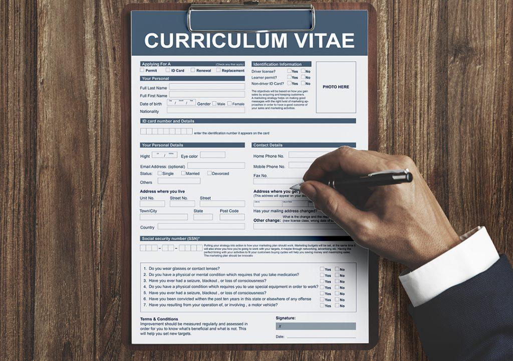 CV Jangan Terlalu Panjang